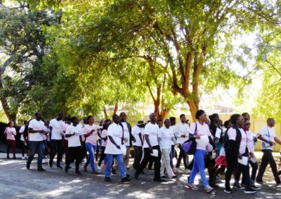 2017 world blood donor day awareness street march