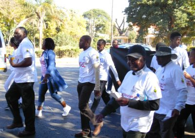 2017 World blood donor day awareness street march3