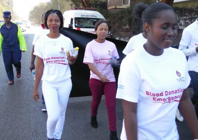 2017 World blood donor day awareness street march5